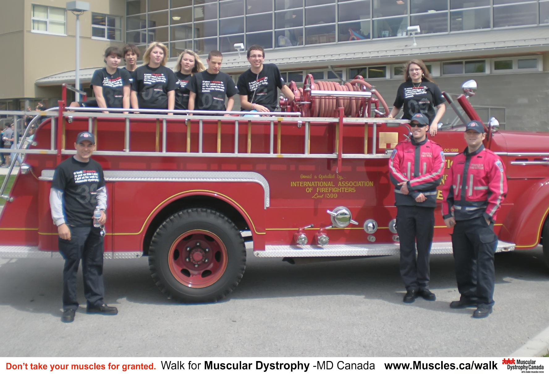 12.6 Firefighters fundraise for muscular dystrophy